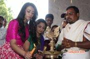 Aug 2015 Gallery Tamil Function Nayagi Movie Pooja 7614