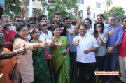 2015 Stills New Office Bearers Visit Nadigar Sangam Land 7739