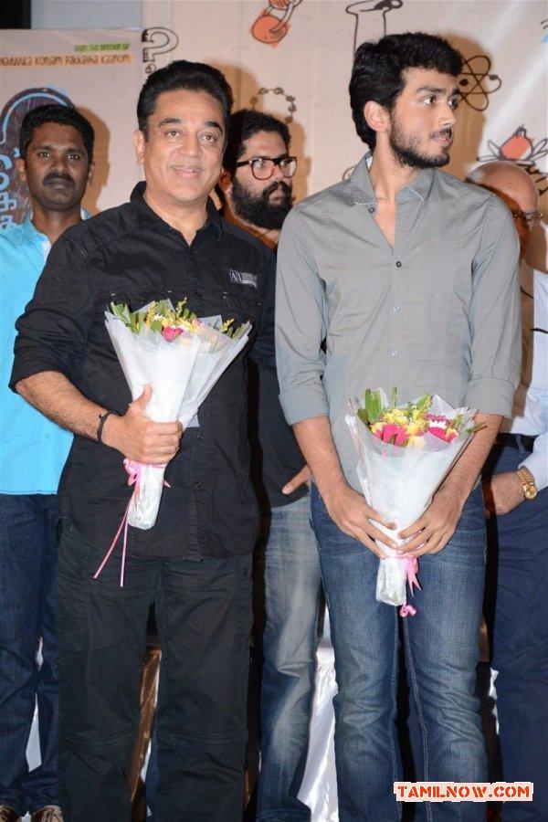 Kamal Haasan Kalidas At Oru Pakka Kadhai Launch 31