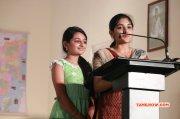 Esther And Niveda At Papanasam Thanks Meet 787
