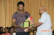 Poojai Audio Launch At Loyola Engineering College