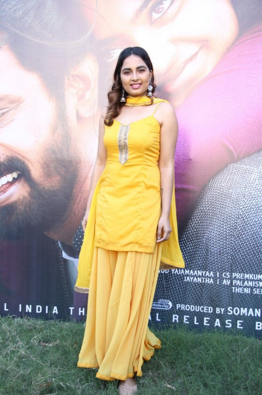 Srushti Dange At Rajavukku Check Audio Launch 721
