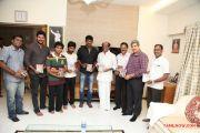 Rajinikanth Launches Naan Sigappu Manithan Audio 3909