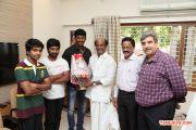 Rajinikanth Launches Naan Sigappu Manithan Audio 6289