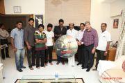 Rajinikanth Launches Naan Sigappu Manithan Audio Stills 8472