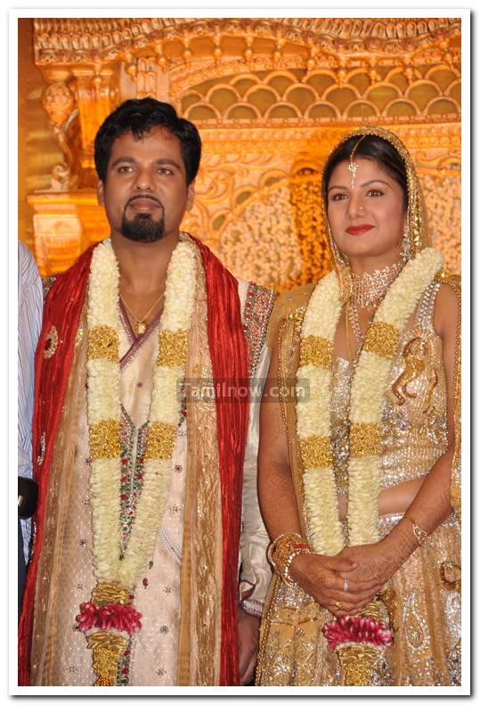 Rambha Marriage Reception Still 9 - Tamil Movie Event