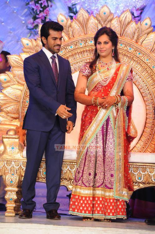 Ram Charan And Upasana Kamineni 611 Tamil Movie Event
