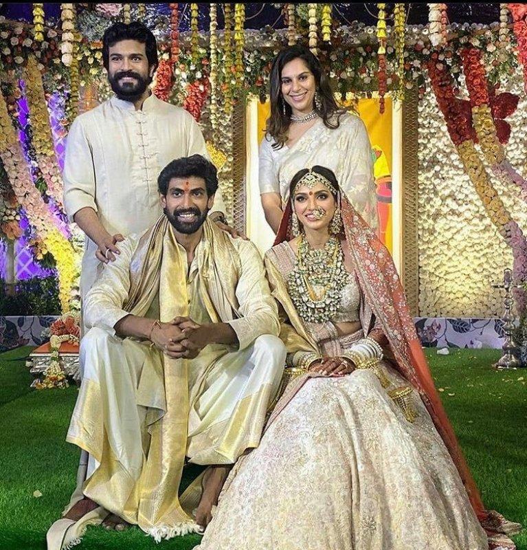 Album Rana Daggubati Miheeka Bajaj Wedding 8180