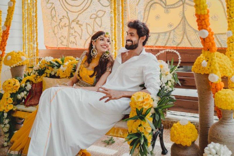 Aug 2020 Pic Rana Daggubati Miheeka Bajaj Wedding Tamil Event 5821