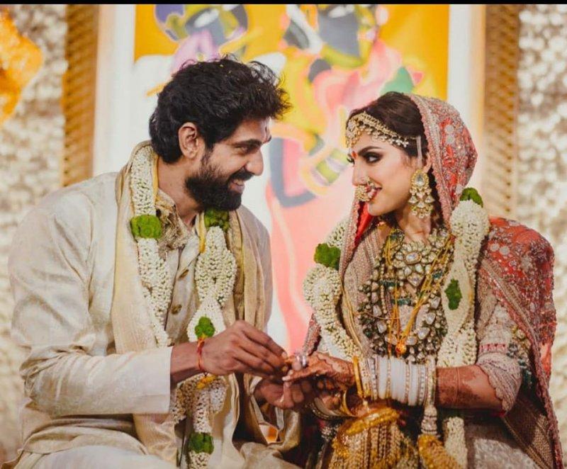 Aug 2020 Stills Function Rana Daggubati Miheeka Bajaj Wedding 5940