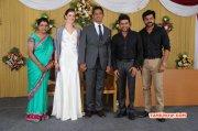 Function Reporter Anupama Subramanian Son Wedding Reception Recent Pic 8434