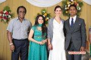 Reporter Anupama Subramanian Son Wedding Reception