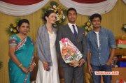Recent Pic Tamil Event Reporter Anupama Subramanian Son Wedding Reception 5474