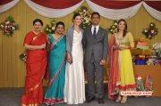 Reporter Anupama Subramanian Son Wedding Reception Event Latest Stills 9015