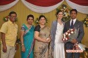 Tamil Function Reporter Anupama Subramanian Son Wedding Reception New Pic 8503