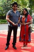 Ramki And Nirosha At Sandamarutham Audio Launch Event New Photo 105