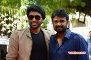Vikram Prabhu Director Vijay At Sandamarutham Audio Launch Album 416