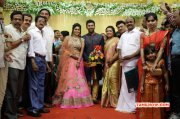 Latest Picture Shanthnu Keerthi Wedding Reception 9300
