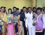 Recent Images Shanthnu Keerthi Wedding Reception 802