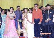 Shanthnu Keerthi Wedding Reception Function Aug 2015 Gallery 541