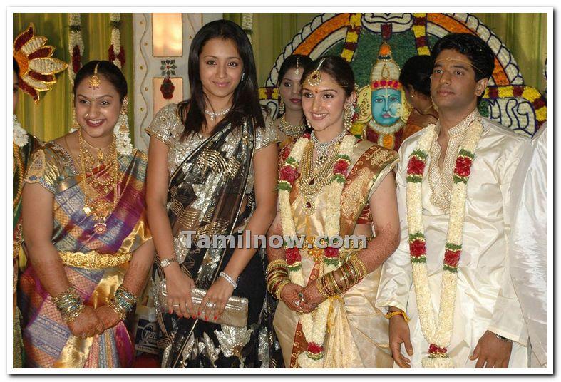 Pics For Gt Tamil Actress Trisha Wedding Photos
