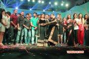 2014 Galleries Tamil Event Stars Badminton League T Shirt Launch 7713