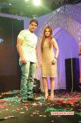 2014 Images Stars Badminton League T Shirt Launch Tamil Movie Event 3416