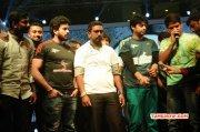 Images Stars Badminton League T Shirt Launch Tamil Movie Event 6663