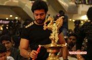 Tamil Event Stars Badminton League T Shirt Launch New Albums 3198