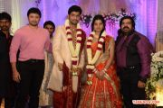 T Rajendran Daughter Wedding Reception With Actor Prashanth 403