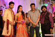 T Rajendran Daughter Wedding Reception With K S Ravikumar 668