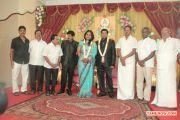 V Swamynathan Son Reception 8593