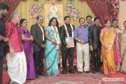 V Swamynathan Son Reception Photos 5713