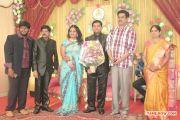V Swamynathan Son Reception Photos 958