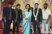 V Swamynathan Son Reception Stills 5484