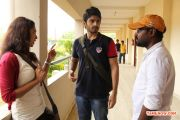 Vazhapazham Movie Working Stills