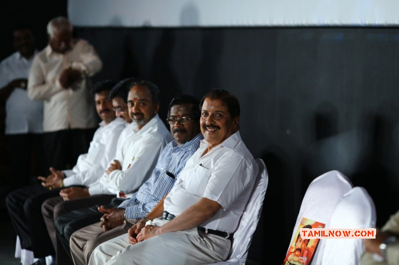 Tamil Event Veera Pandiya Katta Bomman Trailer Launch Mar 2015 Photo 8345