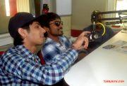 Anirudh And Dhanush At Velaiyilla Pattathari Audio 929