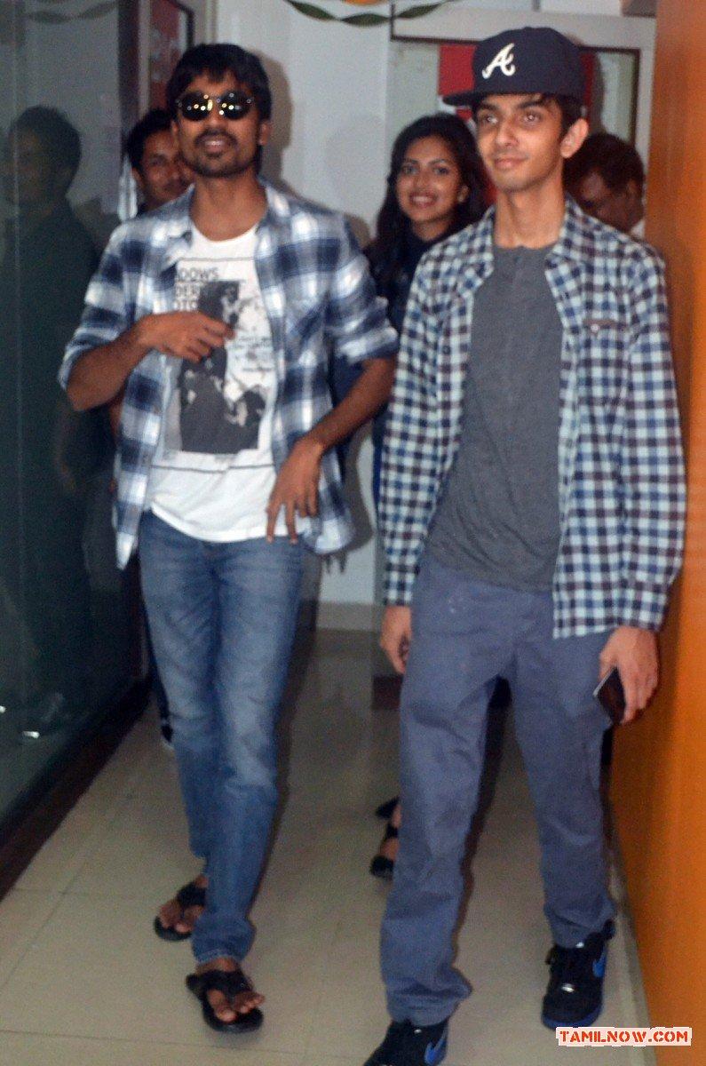 Dhanush And Anirudh At Velaiyilla Pattathari Audio Launch 668