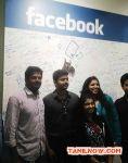 Vijay At Celebrity Meet In Facebook India Office Stills 2823