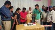 Pic Vijay At Santhosh Narayan Birthday 3469