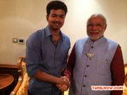 Vijay Meets Narendra Modi At Kovai