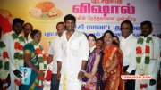 Tamil Movie Event Vishal At Marriage Of 10 Poor Girls Jun 2015 Images 954